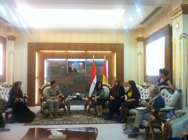 Parlamentonun kadın vekilleriyle buluşma.