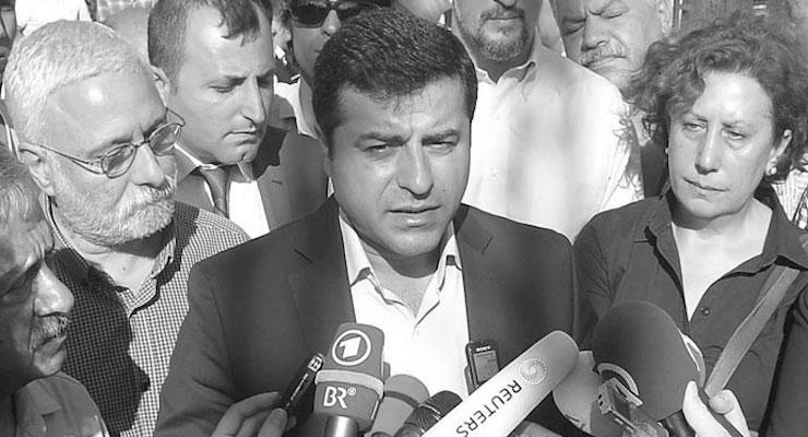 Demirtaş'tan İMC TV yorumu: Parlamento da kapatılmış durumda